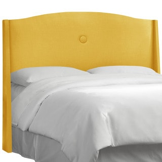 angelo:HOME French Yellow Linen Single-button Headboard