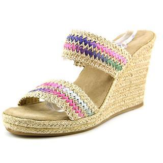 Madden Girl Women's Blenda Multi-color Fabric Espadrille Sandals