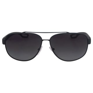 Prada SPS 58Q TFZ5W1 - Grey Rubber Polarized