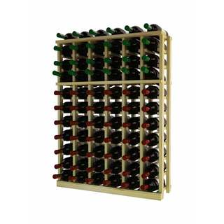 Traditional Series 6-column Wood Wine Rack