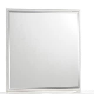 Global Cream Square Mirror