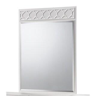 Gloval Cream MDF 36-inch x 45-inch Mirror
