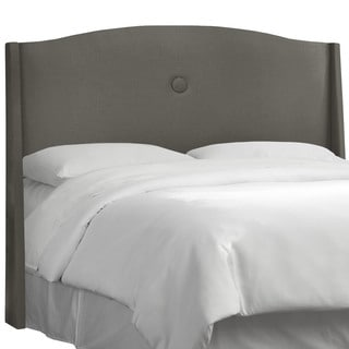 angelo:HOME Slate Linen/Polyester Single -button Headboard