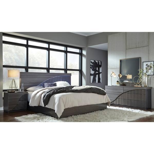 Shop Global Zebra Gold Wood Nightstand Overstock 11896948