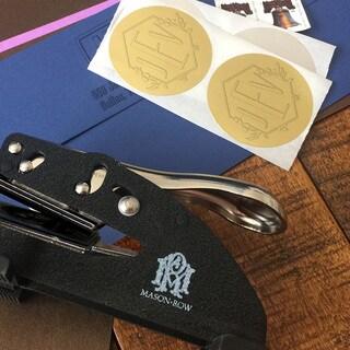 Mason Row Silver Foil Seals