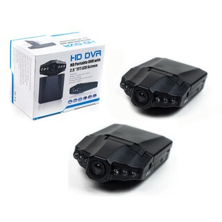 Dash Cam 2.5-inch Black DVR System