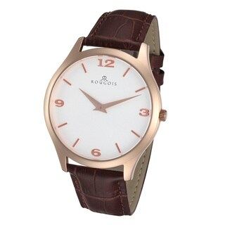 Rougois Gentry Series Stainless Steel Rose Goldtone Watch
