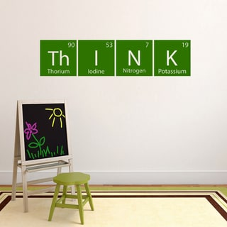 Think Periodic Science Table' 48 x 11.5-inch Wall Decal
