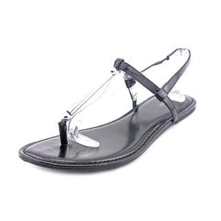 Style & Co Women's Divine Black Synthetic Sandals