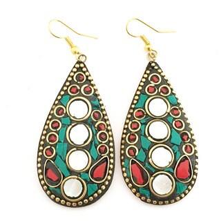 Tiara Global Exclusive Mosaic Earrings