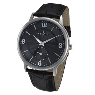 Link to Rougois Lexington Series Black Dial Stainless Steel Watch Similar Items in Women's Watches