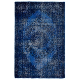 Fab Habitat Estate Collection Indoor/ Outdoor Jal Mahal Blue Rug