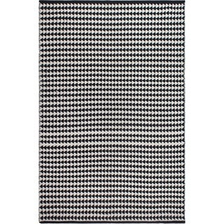 Fab Habitat Recycled Cotton Grace Black Rug