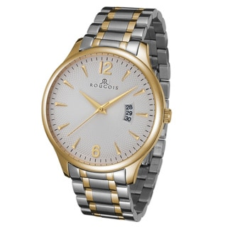 Rougois Men's Madison Series Two-tone Stainless Steel Watch