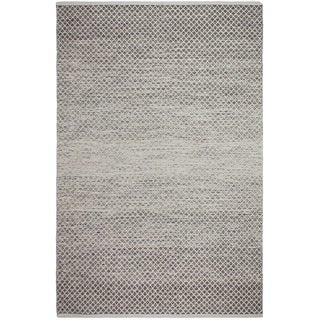 Fab Habitat Recycled Cotton Aurora Grey Rug