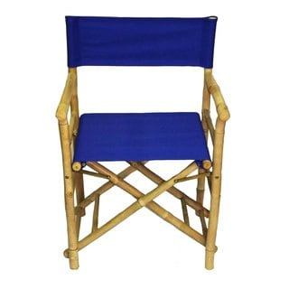 Handmade Set Of 2 Bamboo Directoru0027s Chairs (Vietnam)