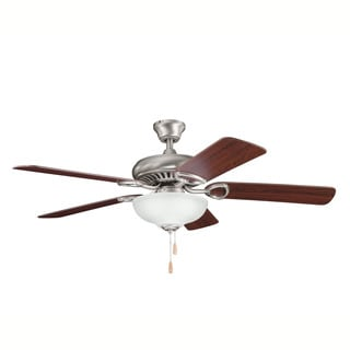 Kichler Lighting Sutter Place Select Collection 52-inch Antique Pewter Ceiling Fan w/Light