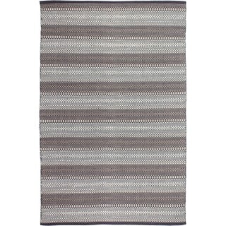 Fab Habitat Recycled Cotton Ethos Grey Rug Size