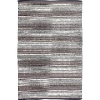 Handmade Fab Habitat Recycled Cotton Ethos Grey Rug Size India Option 6