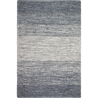 Fab Habitat Recycled Cotton Lucent Blue Rug