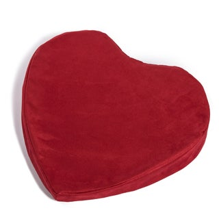 Hermell Products Heart-shaped Small Pleasure Wedge Pillow
