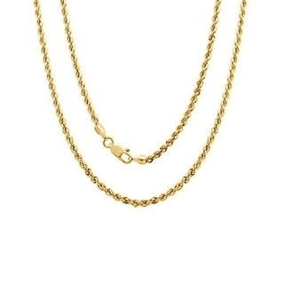 Link to 14k Yellow Gold Rope Chain Similar Items in Necklaces