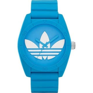 Adidas Men's Santiago Blue Rubber Quartz Watch|https://ak1.ostkcdn.com/images/products/11897476/P18791838.jpg?impolicy=medium
