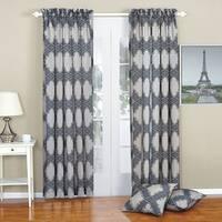 Serenta Dobson Curtain and Throw Pillow Shell Set