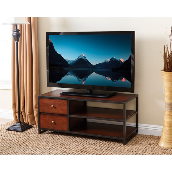 Parson Console Table Abbyson Winston Wood 42-inch TV Stand - Free Shipping Today ...
