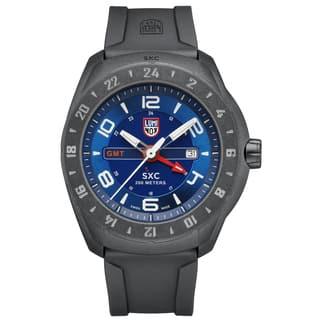 Luminox Men's 5023 SXC PC Carbon GMT Analog Display Analog Quartz Black Watch|https://ak1.ostkcdn.com/images/products/11897780/P18792049.jpg?impolicy=medium