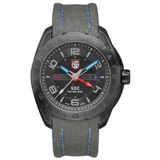 Luminox Men's A.5121.GN SXC Analog Display Swiss Quartz Grey Watch