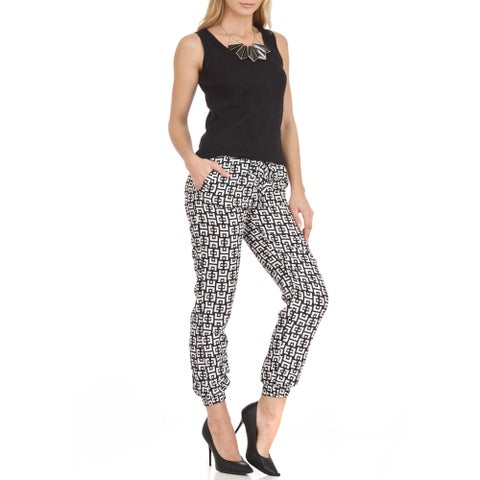 Jagger Trendy Loose Fit Printed Soft Pants