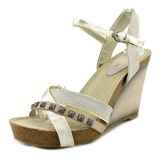 Rebels Women's Javon Grey Faux-leather Sandals