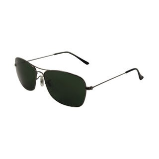 Ray Ban RB3388 Women's Aviator Crystal Green Lens Sunglasses