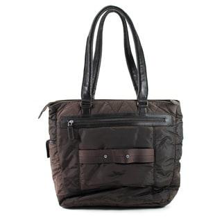 Furla Brown Man Made Women's Shoulder Bag