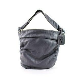 Furla Grey Leather Women's Shoulder Bag
