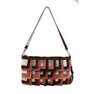 Hogan Pink Suede Women's Shoulder Bag