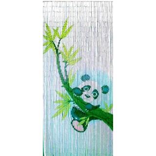 Handmade Panda Scene Curtain (Vietnam)