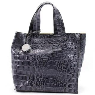 Furla Grey Leather Women's Tote