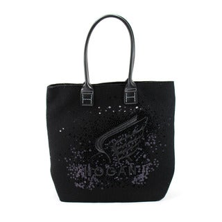 Hogan Black Textile Women's Tote