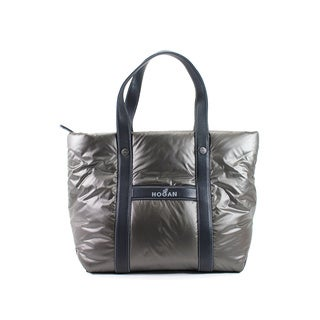 Hogan Grey Man Made Women's Tote
