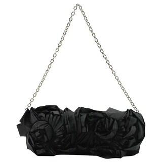 Persona Black Textile Women's Evening Bag