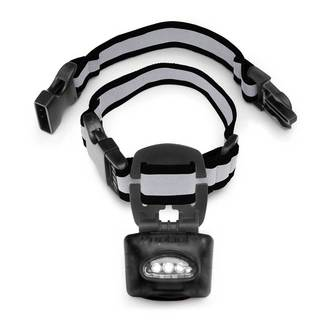 PupLight Dog Safety Light Version 2 Dog Collar