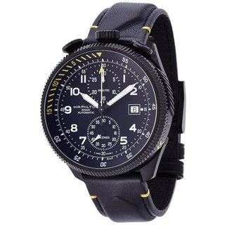 Hamilton Men's H76786733 Khaki Aviation Black Watch