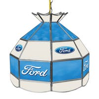 Ford 16 Inch Handmade Tiffany Style Lamp