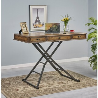 Carolyn Birch Veneer Sit and Stand Desk