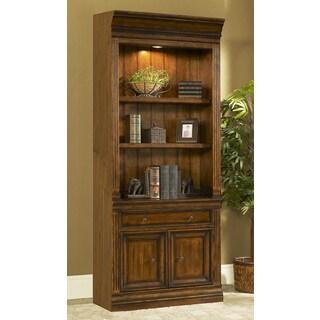 Austin Brown Wood and Veneer 32-inch Bookcase
