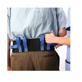 Medical Gait Soft Nylon Transfer Belt With 6 Handles