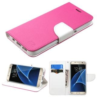 Insten Leather Case Cover with Stand/ Wallet Flap Pouch For Samsung Galaxy S7 Edge
