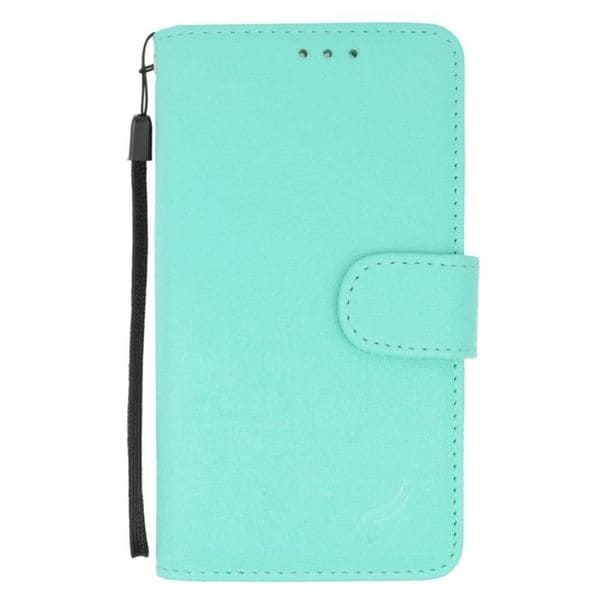 half off 06d5a 6d237 Shop Insten Mint Leather Case Cover For Alcatel One Touch Fierce XL ...